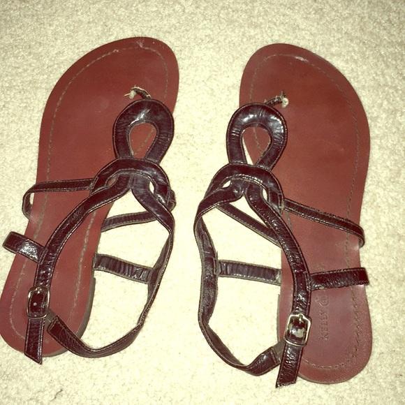 4681e592904 Kelly   Katie black sandals - must bundle!